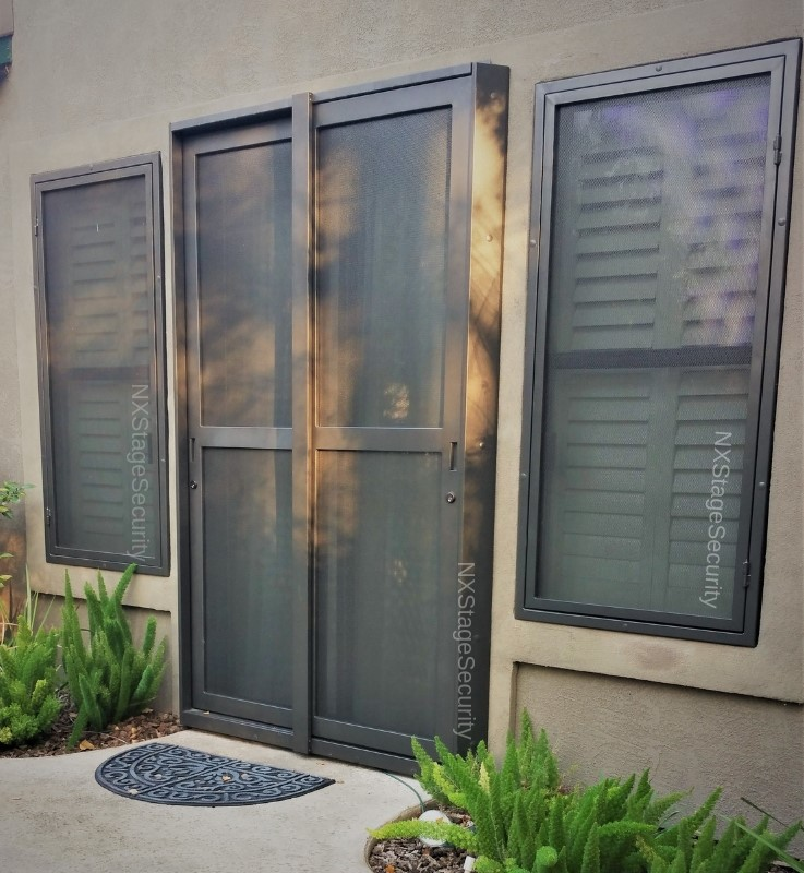 Sliding Security Doors Nx Stage Security